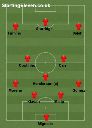 Possible Liverpool X1