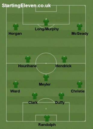 Five Ways Ireland Could Line Out Against Moldova