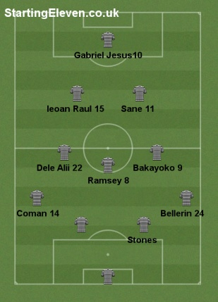 User generated - 4-3-2-1